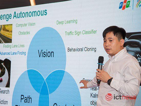 FPT sắp thử nghiệm xe tự hành trong các khu công nghệ cao ở Hà Nội, TP.HCM - Ảnh 1.