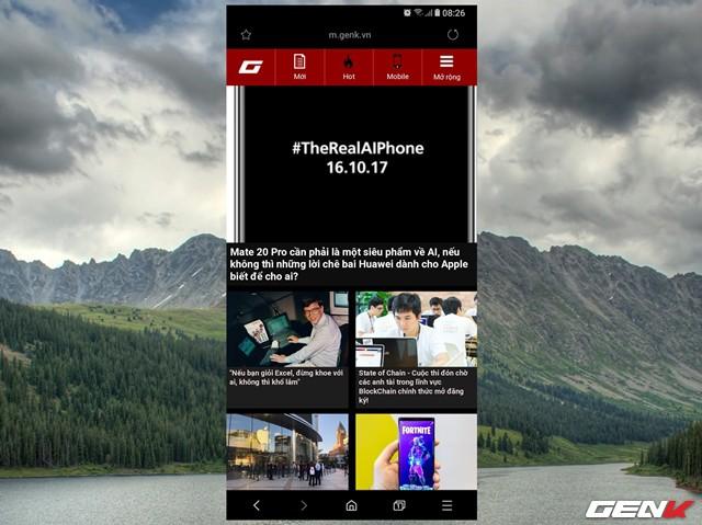 Dùng thử Samsung Internet Browser 9: Giao diện mới, chế độ nền tối, khóa chế độ bí mật - Ảnh 11.