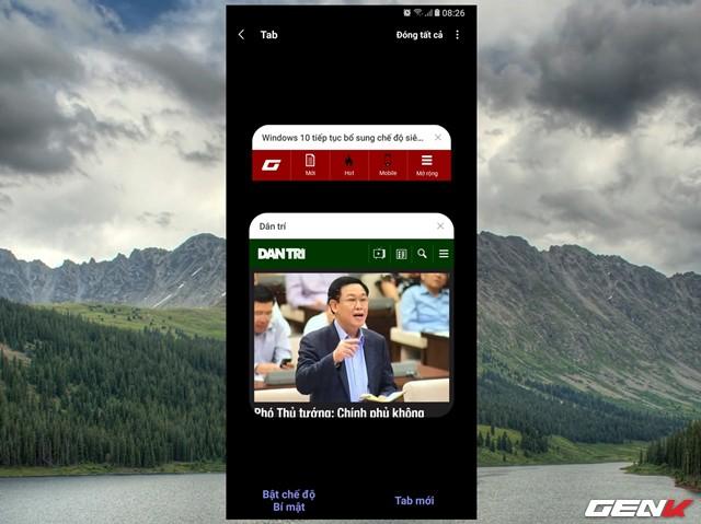 Dùng thử Samsung Internet Browser 9: Giao diện mới, chế độ nền tối, khóa chế độ bí mật - Ảnh 13.