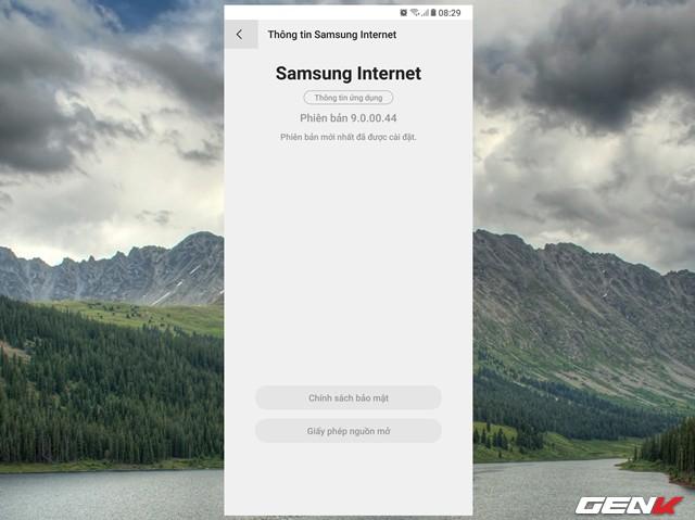 Dùng thử Samsung Internet Browser 9: Giao diện mới, chế độ nền tối, khóa chế độ bí mật - Ảnh 17.