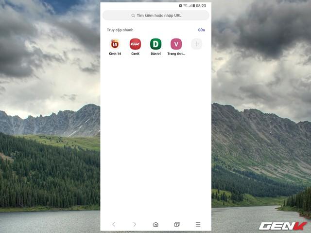 Dùng thử Samsung Internet Browser 9: Giao diện mới, chế độ nền tối, khóa chế độ bí mật - Ảnh 2.