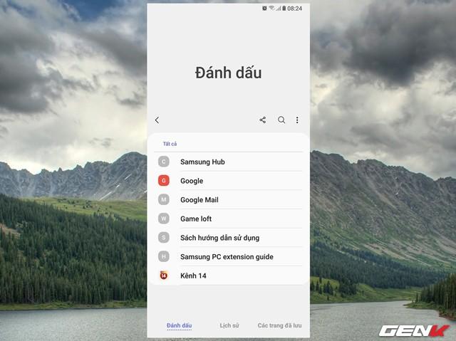 Dùng thử Samsung Internet Browser 9: Giao diện mới, chế độ nền tối, khóa chế độ bí mật - Ảnh 5.