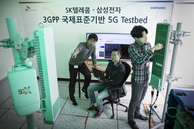 Samsung và SK Telecom đã sẵn sàng triển khai mạng 5G vào tháng 12? - Ảnh 1.