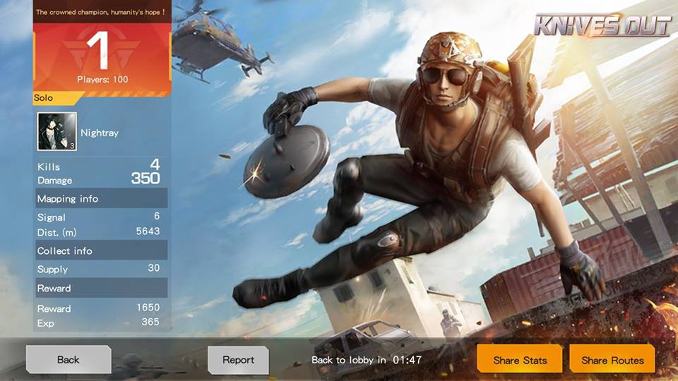 Knives Out hits record, but still can't match Fortnite