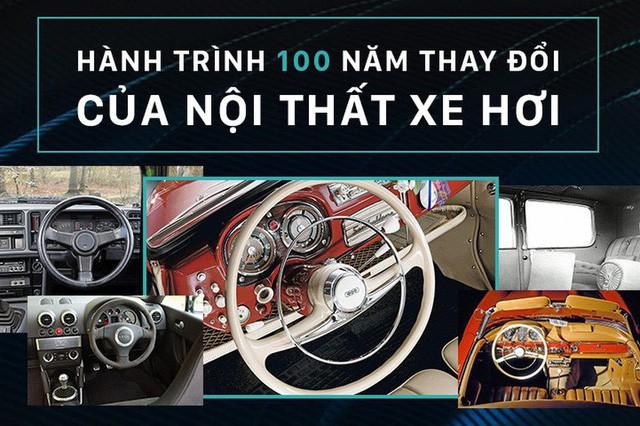 Nội thất xe hơi đã thay đổi như thế nào trong 100 năm qua - Ảnh 1.