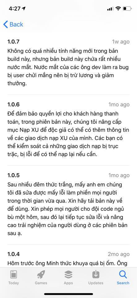Cười ra nước mắt với từng lần cập nhật ứng dụng Comi, app đọc truyện tranh cho người Việt do Comicola thiết kế - Ảnh 3.