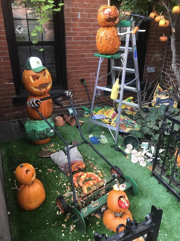 20 cách trang trí nhà cửa dịp Halloween khiến bọn trẻ phải khóc thét khi đến xin kẹo - Ảnh 8.