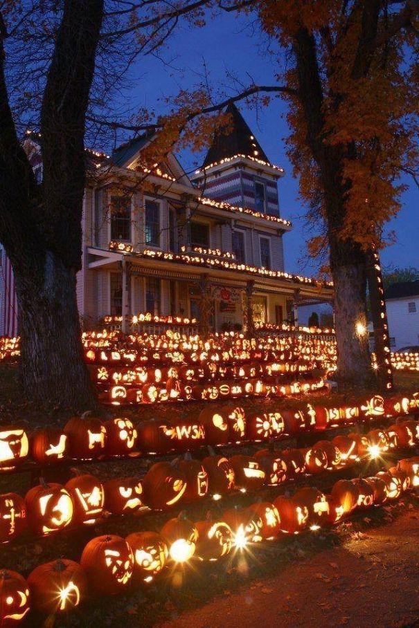 20 cách trang trí nhà cửa dịp Halloween khiến bọn trẻ phải khóc thét khi đến xin kẹo - Ảnh 4.