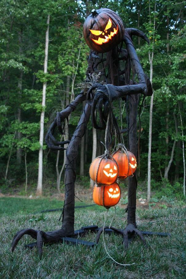 20 cách trang trí nhà cửa dịp Halloween khiến bọn trẻ phải khóc thét khi đến xin kẹo - Ảnh 6.