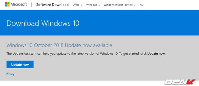 Windows 10 October 2018 đã được phát hành, và đây là những cách tải về chính thống bạn nên biết - Ảnh 2.