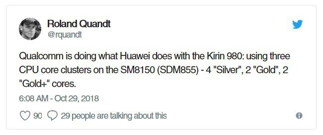 Chip Snapdragon 8150 (Snapdragon 855) sẽ có chung kiến trúc xử lý giống với Kirin 980? - Ảnh 2.