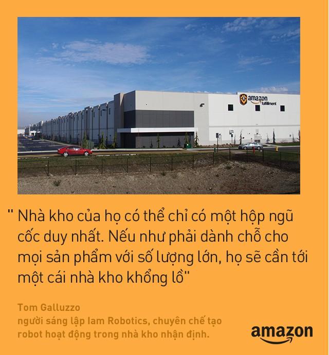 Kho hàng Amazon: tiện đâu vứt đấy, không cần sắp xếp theo thứ tự nhưng lại hiệu quả nhất thế giới là sao? - Ảnh 6.
