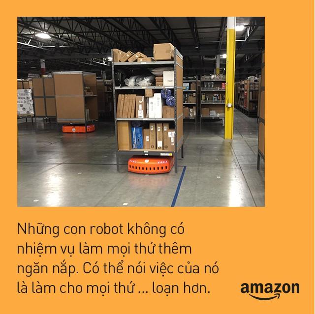 Kho hàng Amazon: tiện đâu vứt đấy, không cần sắp xếp theo thứ tự nhưng lại hiệu quả nhất thế giới là sao? - Ảnh 8.