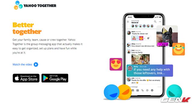 """Dùng thử Yahoo Together: """"vị vua"""" ngày trở lại - Ảnh 1."""