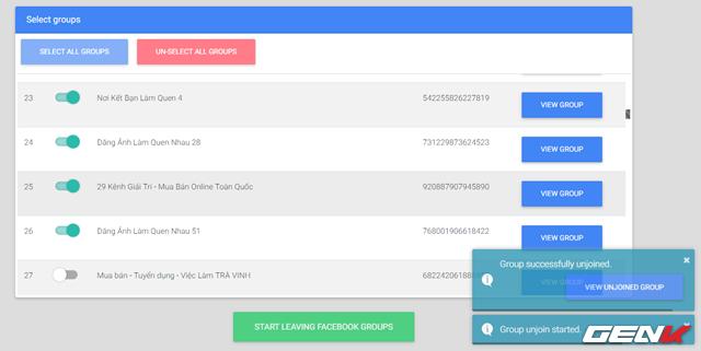 Cách đơn giản giúp thoát nhanh các Nhóm và Pages mà bạn bị ép tham gia lúc nào chẳng biết - Ảnh 8.