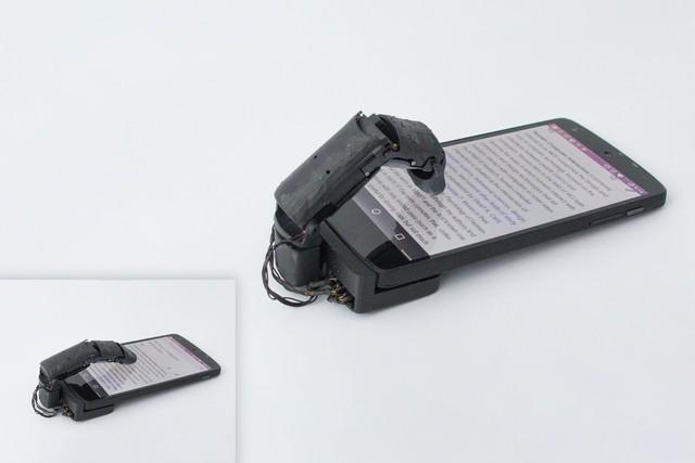 Đến sợ với ngón tay robot MobiLimb, phụ kiện hô biến smartphone của bạn trở thành vật thể sống - Ảnh 6.