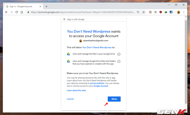 Hướng dẫn tự tạo trang Blog cá nhân với Google Docs mà không cần đến kiến thức về lập trình web - Ảnh 2.