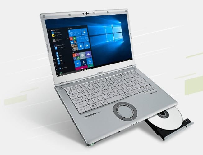 Nhật Bản kỳ lạ: Panasonic ra mắt laptop vẫn có ổ đĩa quang, touchpad hình tròn ngộ nghĩnh - Ảnh 2.