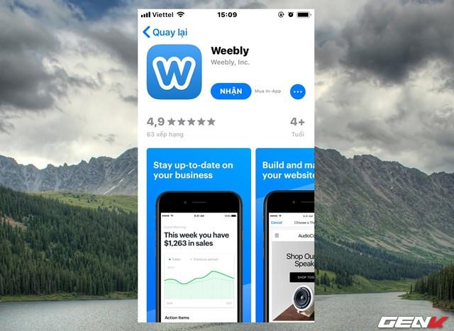 Tạo website miễn phí, cực dễ và chuyên nghiệp ngay trên smartphone với Weebly - Ảnh 2.