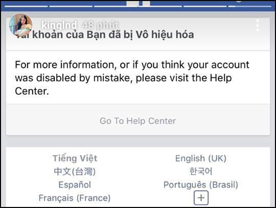 Facebook cá nhân của Sơn Tùng M-TP và một số người nổi tiếng bỗng dưng biến mất hoặc bị khóa - Ảnh 3.