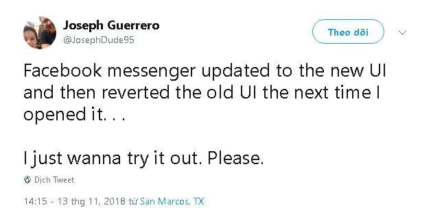 Facebook Messenger quay trở lại giao diện cũ, sau ít giờ thử nghiệm giao diện mới - Ảnh 3.