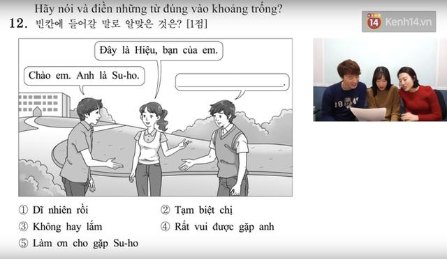 Thử sức với đề thi môn Tiếng Việt trong kỳ thi Đại học ở Hàn Quốc: Tưởng không khó mà khó không tưởng - Ảnh 5.