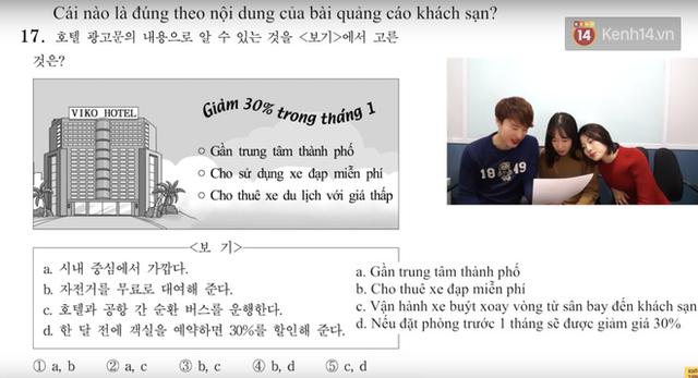 Thử sức với đề thi môn Tiếng Việt trong kỳ thi Đại học ở Hàn Quốc: Tưởng không khó mà khó không tưởng - Ảnh 7.