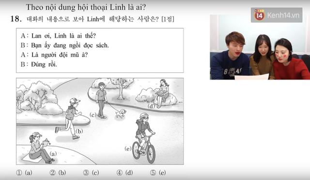 Thử sức với đề thi môn Tiếng Việt trong kỳ thi Đại học ở Hàn Quốc: Tưởng không khó mà khó không tưởng - Ảnh 8.