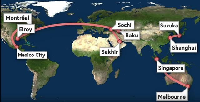 """Chuỗi cung ứng """"thần kỳ"""" của giải F1: Tối Chủ Nhật còn đua tại Trung Đông, sáng thứ Tư đã sẵn sàng ở Trung Quốc - Ảnh 5."""