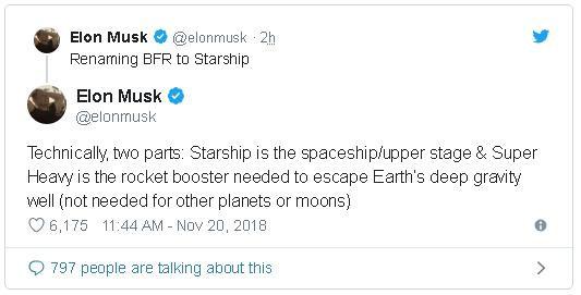 Tên lửa Big F*** Rocket được Elon Musk đổi tên thành Starship Super Heavy - Ảnh 3.