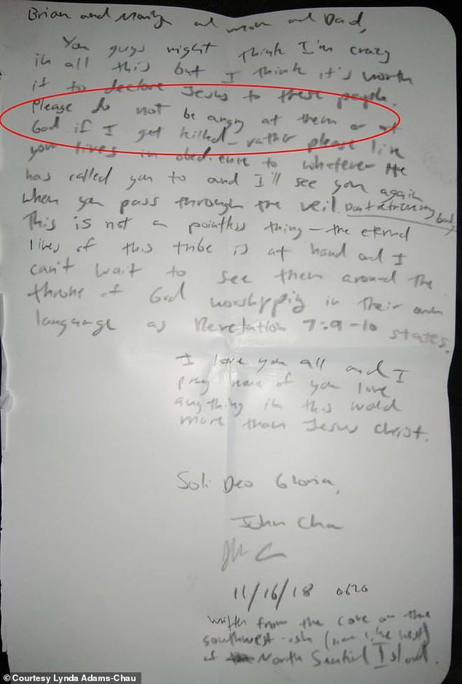 Di thư của thanh niên trẻ gửi gia đình trước khi bị thổ dân bắn chết: Đừng trách họ hay trách Chúa nếu con phải ra đi - Ảnh 4.