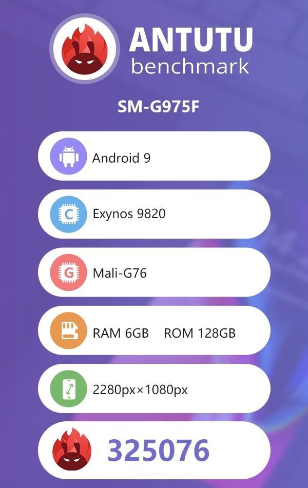 Samsung Galaxy S10 Plus đạt 325.076 điểm AnTuTu, vượt mặt toàn bộ các mẫu smartphone Android cao cấp hiện tại - Ảnh 1.