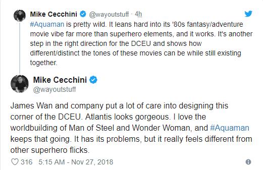 Aquaman được ca ngợi là bom tấn siêu anh hùng DC xuất sắc nhất từ trước tới nay - Ảnh 14.