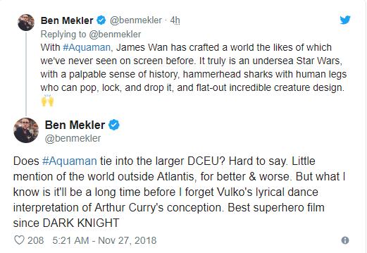 Aquaman được ca ngợi là bom tấn siêu anh hùng DC xuất sắc nhất từ trước tới nay - Ảnh 15.