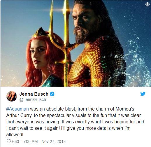 Aquaman được ca ngợi là bom tấn siêu anh hùng DC xuất sắc nhất từ trước tới nay - Ảnh 16.