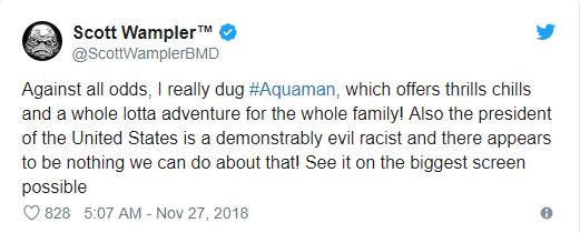 Aquaman được ca ngợi là bom tấn siêu anh hùng DC xuất sắc nhất từ trước tới nay - Ảnh 5.