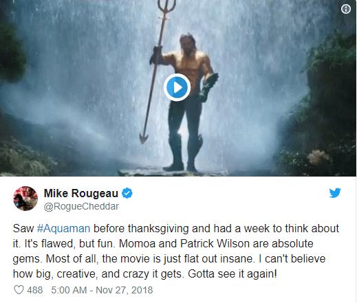 Aquaman được ca ngợi là bom tấn siêu anh hùng DC xuất sắc nhất từ trước tới nay - Ảnh 7.