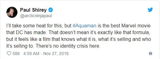 Aquaman được ca ngợi là bom tấn siêu anh hùng DC xuất sắc nhất từ trước tới nay - Ảnh 9.
