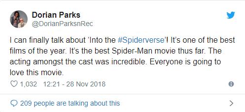 Đạt điểm tuyệt đối, Spider-Man: Into the Spider-Verse là phim Người Nhện hay nhất lịch sử - Ảnh 3.