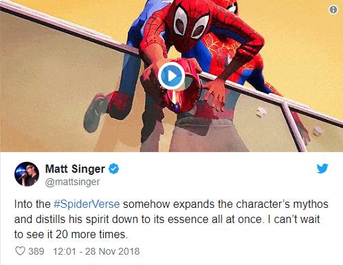 Đạt điểm tuyệt đối, Spider-Man: Into the Spider-Verse là phim Người Nhện hay nhất lịch sử - Ảnh 8.