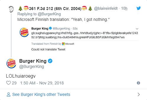 Twitter của Burger King đăng toàn thứ ngớ ngẩn trong nhiều giờ, nghi là chiêu trò quảng cáo đồ ăn cho chó - Ảnh 2.