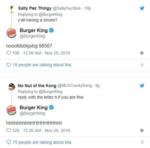 Twitter của Burger King đăng toàn thứ ngớ ngẩn trong nhiều giờ, nghi là chiêu trò quảng cáo đồ ăn cho chó - Ảnh 3.