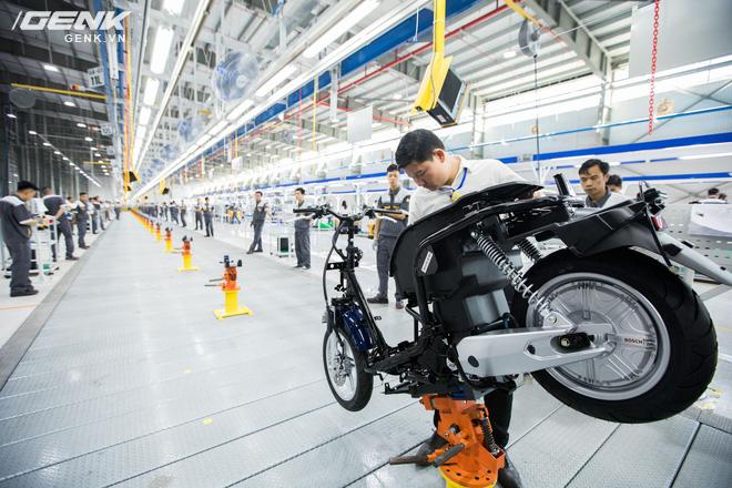 VinFast khánh thành nhà máy sản xuất xe máy điện thông minh với độ tự động hóa trên 95%, mỗi năm xuất xưởng 1 triệu xe - Ảnh 7.