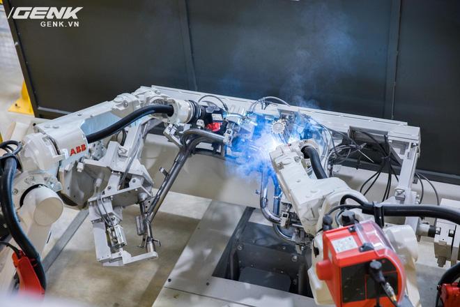 VinFast khánh thành nhà máy sản xuất xe máy điện thông minh với độ tự động hóa trên 95%, mỗi năm xuất xưởng 1 triệu xe - Ảnh 3.