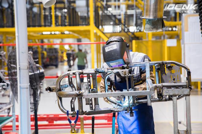 VinFast khánh thành nhà máy sản xuất xe máy điện thông minh với độ tự động hóa trên 95%, mỗi năm xuất xưởng 1 triệu xe - Ảnh 4.
