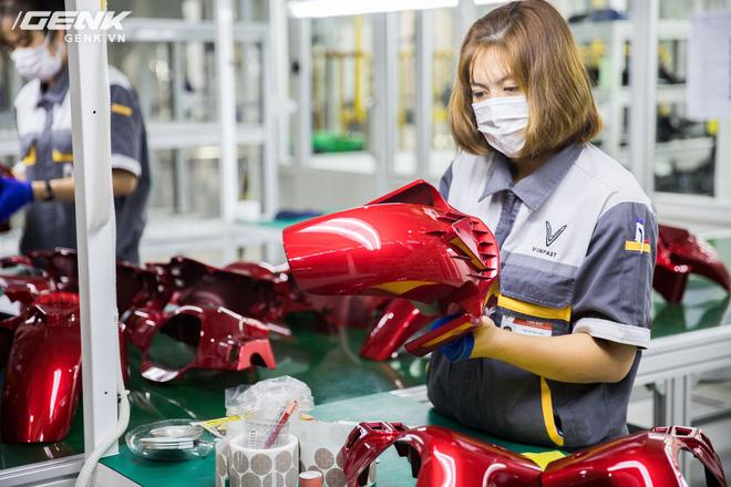 VinFast khánh thành nhà máy sản xuất xe máy điện thông minh với độ tự động hóa trên 95%, mỗi năm xuất xưởng 1 triệu xe - Ảnh 5.