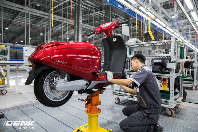 VinFast khánh thành nhà máy sản xuất xe máy điện thông minh với độ tự động hóa trên 95%, mỗi năm xuất xưởng 1 triệu xe - Ảnh 8.