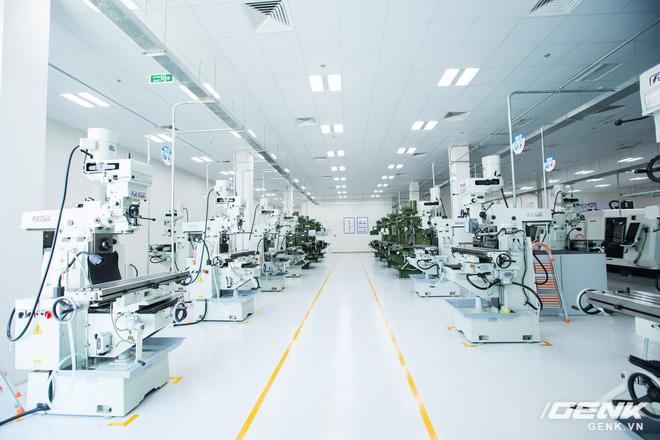 VinFast khánh thành nhà máy sản xuất xe máy điện thông minh với độ tự động hóa trên 95%, mỗi năm xuất xưởng 1 triệu xe - Ảnh 13.