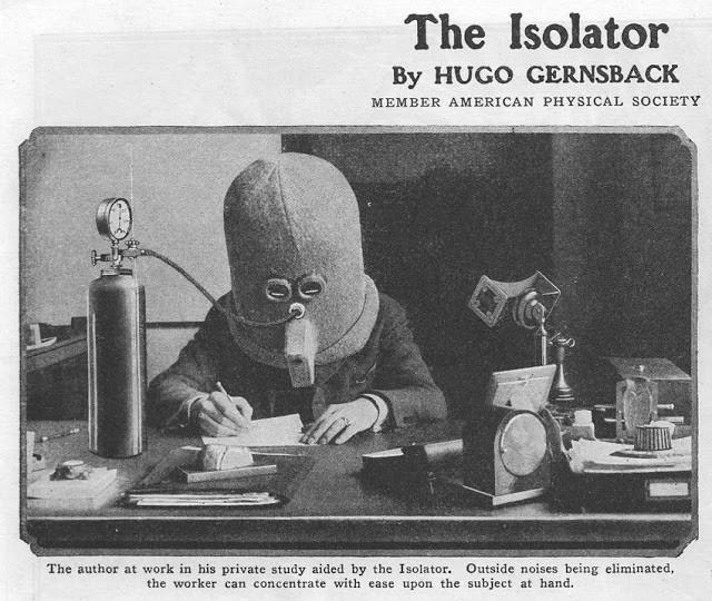 Có thể bạn chưa biết: Con người từng phát minh ra mũ chống mất tập trung vào năm 1925 nhưng trông hơi sợ - Ảnh 1.