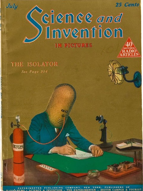 Có thể bạn chưa biết: Con người từng phát minh ra mũ chống mất tập trung vào năm 1925 nhưng trông hơi sợ - Ảnh 2.